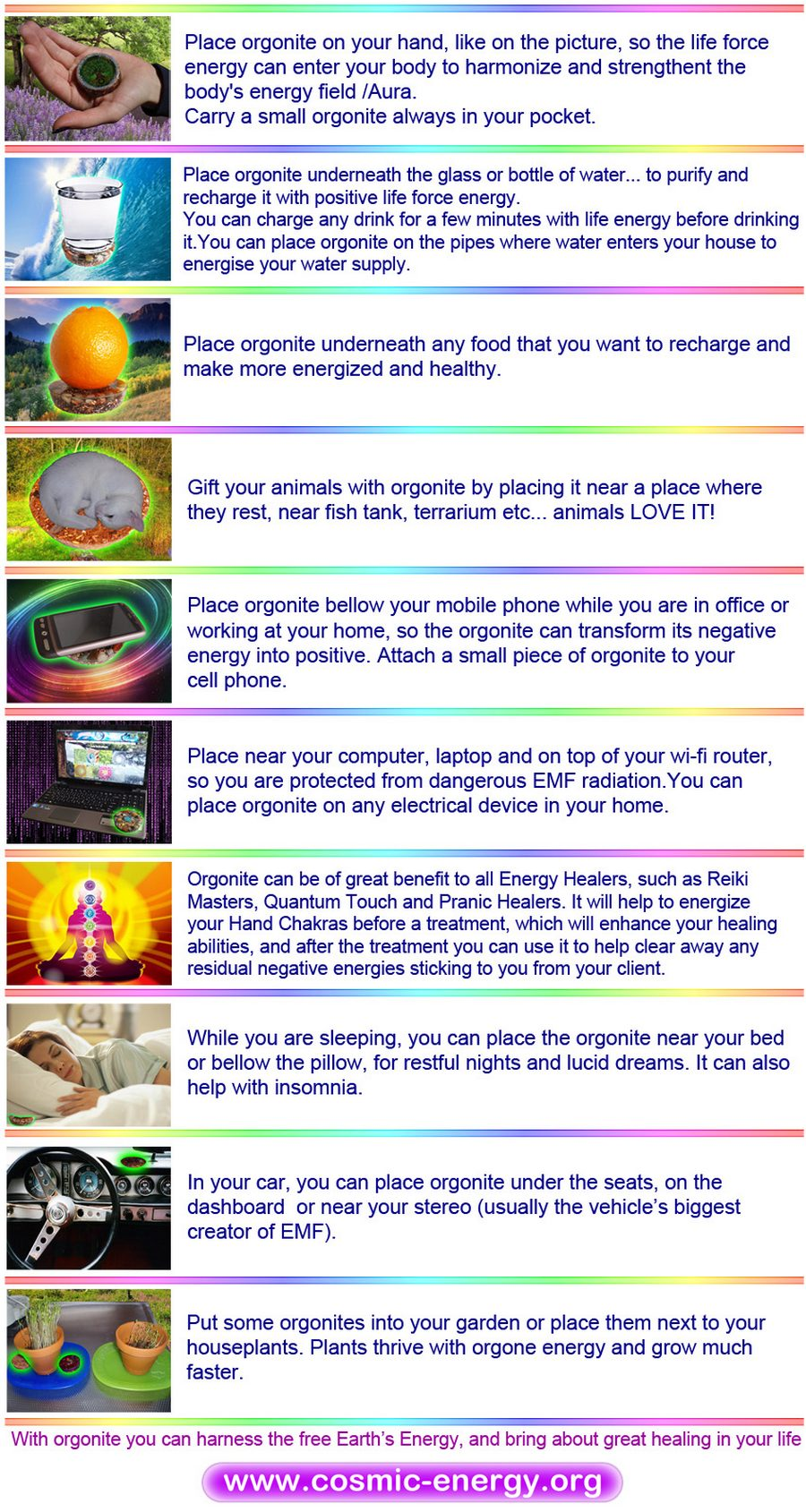how to use orgone cosmic energy orgonites webshop what is