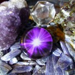 Violet Light of Universal Consciousness Orgone Pendant