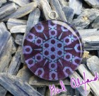 DNA Activator – Mandala by Gail Alexander – Special Orgone Pendant ( 8 CRYSTALS )