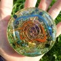 RECHARGING PLATE DISC ORGONE ENERGY