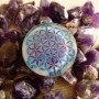 Flower of Life Orgone Pendant By Cosmic Energy 2