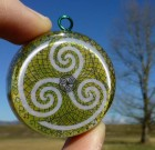 TRISKELION Pendant – Triskele Druid Symbol