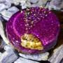 violet pendant