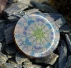 Keylontic series Orgone Pendant (blue color)