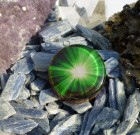Green Light of Universal Consciousness Orgone Pendant