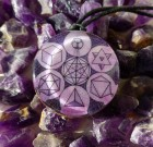 5 Platonic Solids Spiritual Orgone Pendant