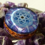 Seed of Life Orgone Pendant By Cosmic Energy 3