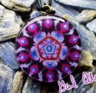 Dolphins and the Soothing Power of Five with LARIMAR – Mandala by Gail Alexander – Special Orgone Pendant