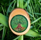 Cedar Wood Tree Orgonite