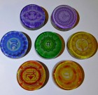CHAKRA SET FOR HEALERS WITH HIGH VIBRATIONAL CRYSTALS