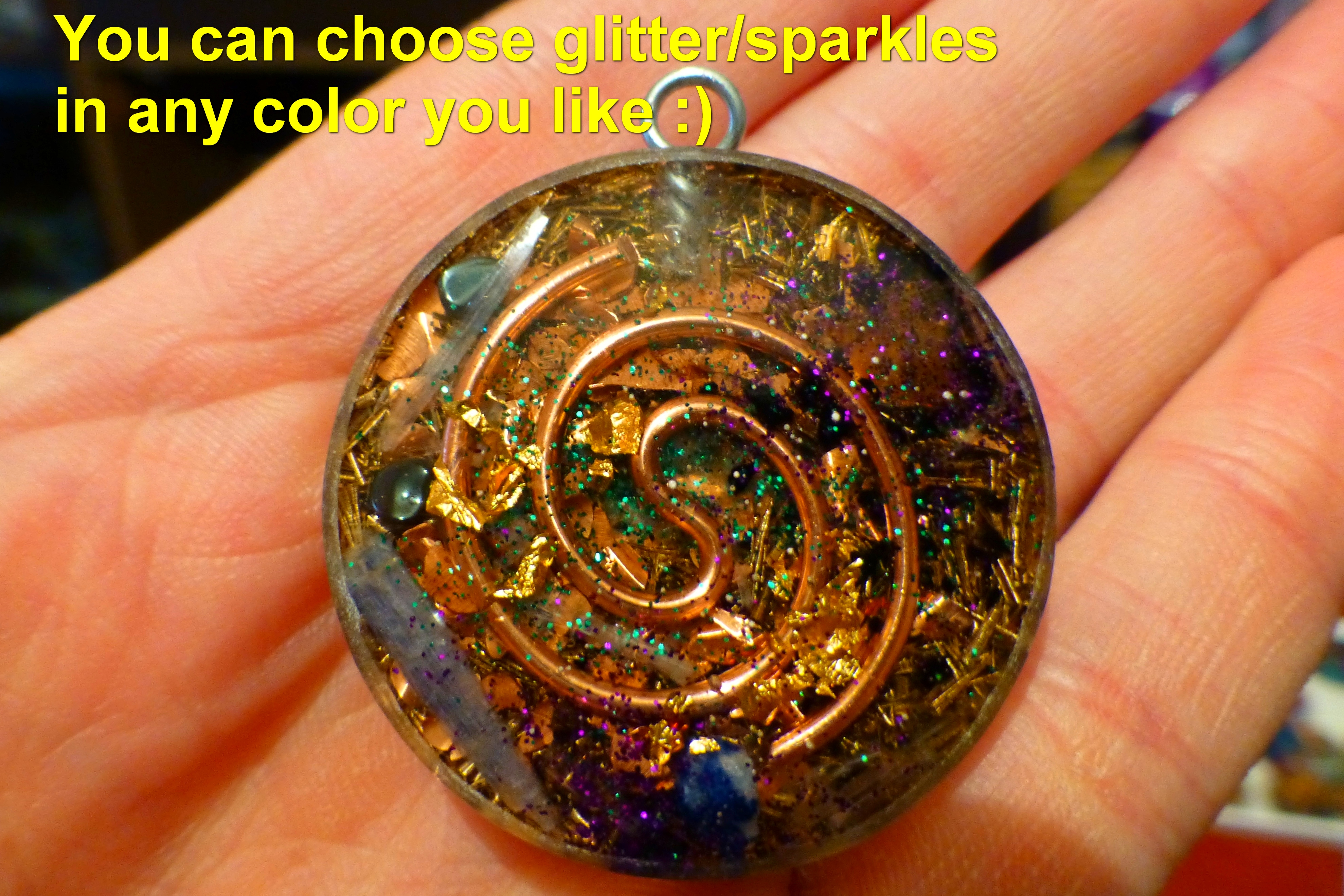 Venus the cycle of harmony orgone pendant programmed with natural venus the cycle of harmony orgone pendant aloadofball Choice Image
