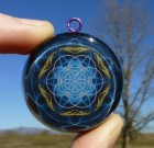 Seed of Life – Orgone Pendant – Powerful Sacred Geometry Necklace