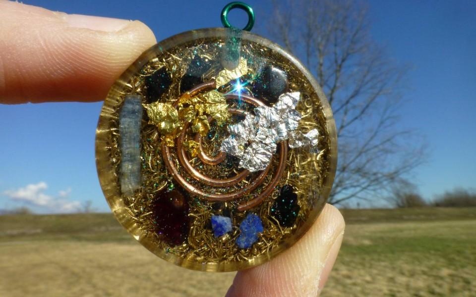 Completely Personalized Orgone Pendant