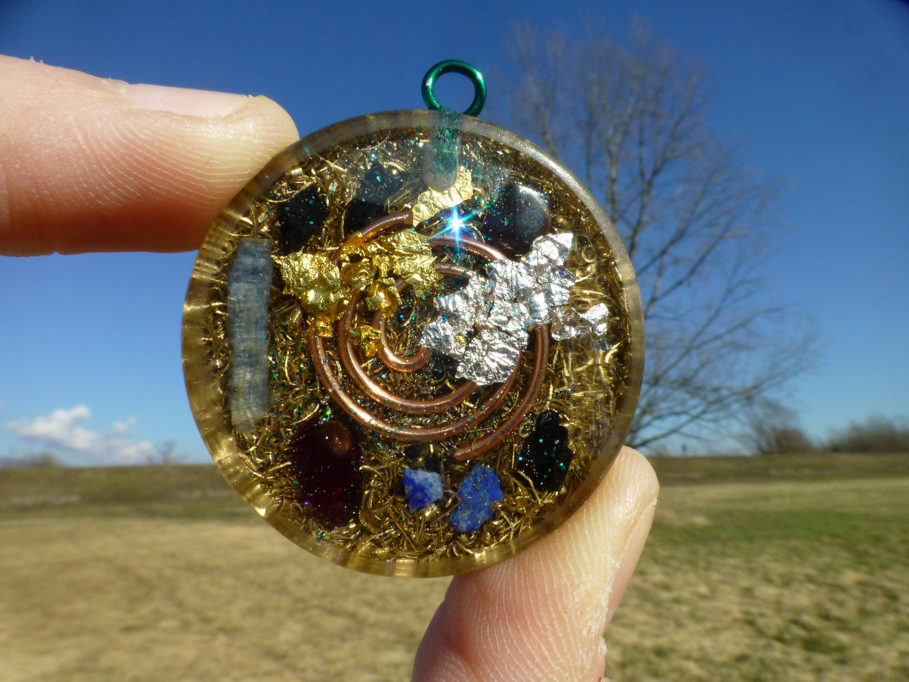 Completely personalized orgone pendant orgone pendants by cosmic completely personalized orgone pendant aloadofball Choice Image