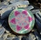 Seed of Life inside Flower of Life Orgone Pendant