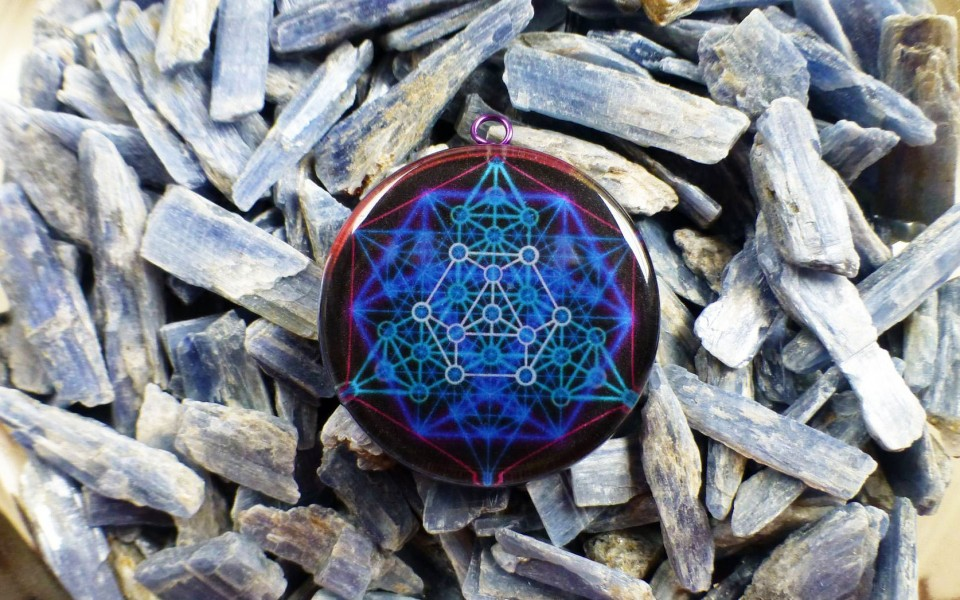 VECTOR EQUILIBRIUM(smaller size) – Powerful Orgone Pendant for Healers