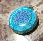 Flower of Life – orgonite necklace