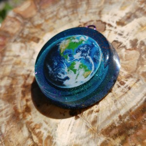 earth orgone pendant