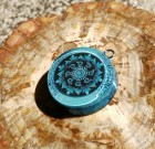 Larimar Mandala Orgone Necklace