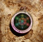 Metatrons Cube Orgonite Necklace