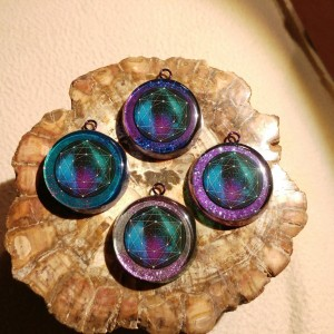 orgonite necklaces